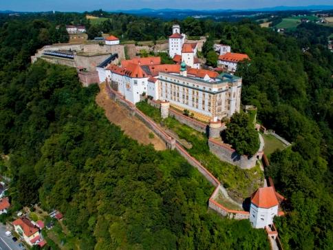 Luftaufnahmen der Veste Oberhaus/ Sommer 2015